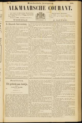 Alkmaarsche Courant 1898-01-12