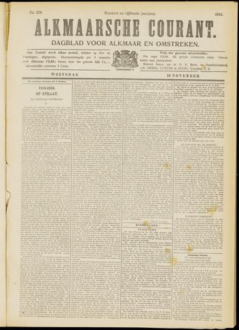 Alkmaarsche Courant 1913-11-19