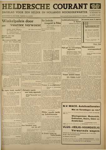 Heldersche Courant 1938-12-22