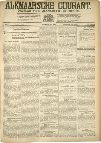 Alkmaarsche Courant 1933-07-28