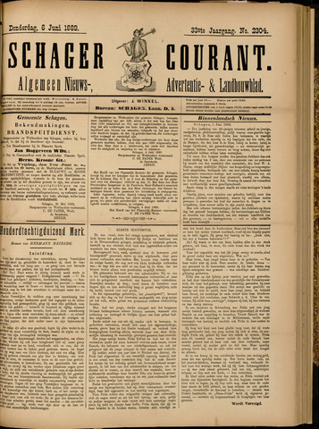 Schager Courant 1889-06-06