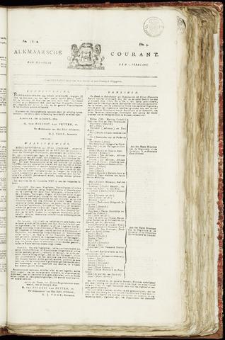 Alkmaarsche Courant 1819-02-01