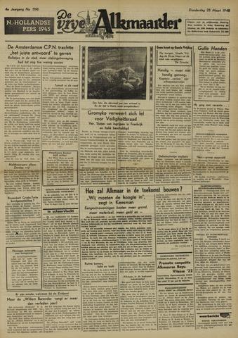 De Vrije Alkmaarder 1948-03-25