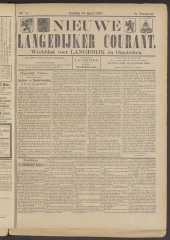 Nieuwe Langedijker Courant 1897-04-24
