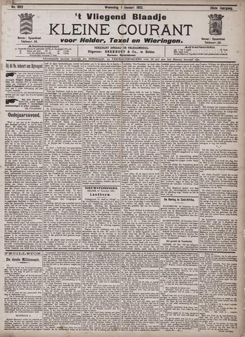 Vliegend blaadje : nieuws- en advertentiebode voor Den Helder 1902-01-01
