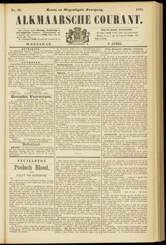 Alkmaarsche Courant 1895-04-03