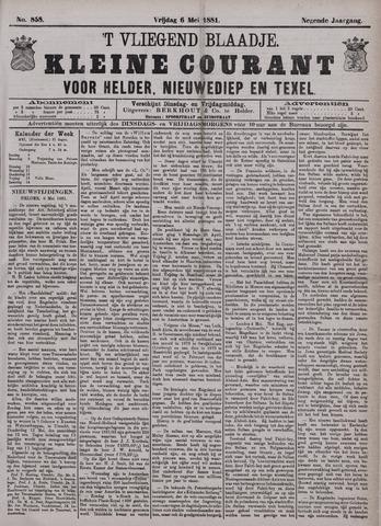 Vliegend blaadje : nieuws- en advertentiebode voor Den Helder 1881-05-06