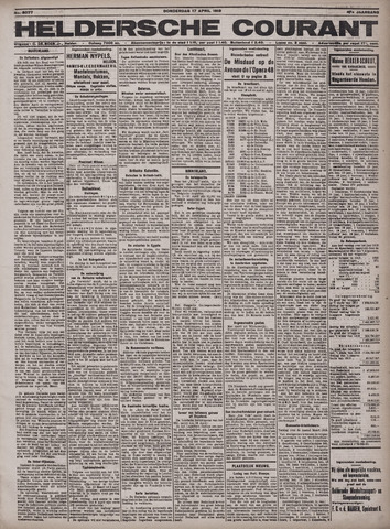 Heldersche Courant 1919-04-17
