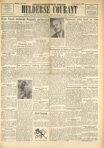 Heldersche Courant 1950-05-01