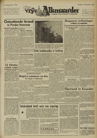 De Vrije Alkmaarder 1947-09-02