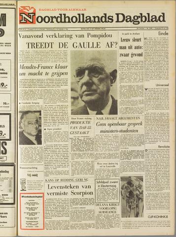 Noordhollands Dagblad : dagblad voor Alkmaar en omgeving 1968-05-30