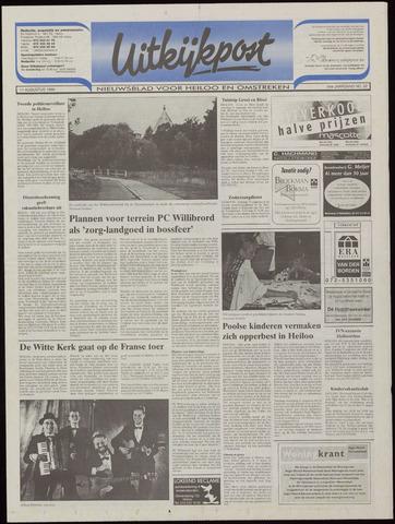 Uitkijkpost : nieuwsblad voor Heiloo e.o. 1999-08-11