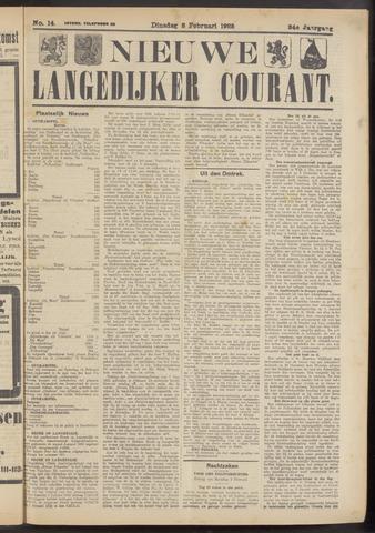 Nieuwe Langedijker Courant 1925-02-03