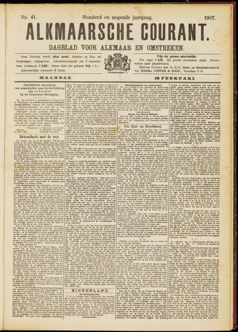Alkmaarsche Courant 1907-02-18