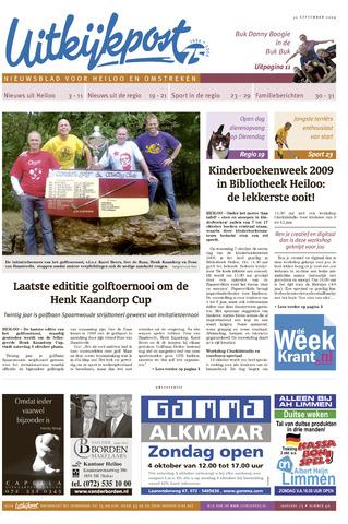 Uitkijkpost : nieuwsblad voor Heiloo e.o. 2009-09-30