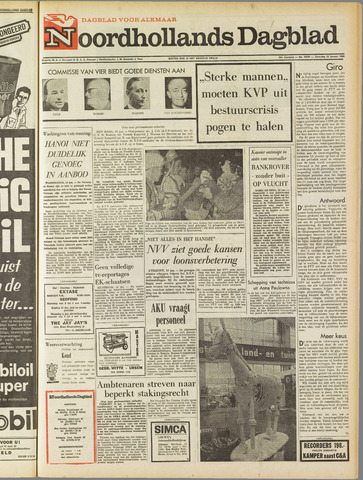 Noordhollands Dagblad : dagblad voor Alkmaar en omgeving 1968-01-13