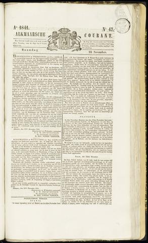 Alkmaarsche Courant 1841-11-22