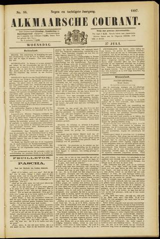 Alkmaarsche Courant 1887-07-27