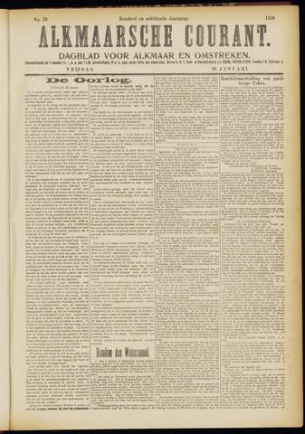 Alkmaarsche Courant 1916-01-28