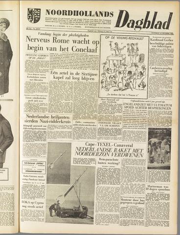 Noordhollands Dagblad : dagblad voor Alkmaar en omgeving 1958-10-25