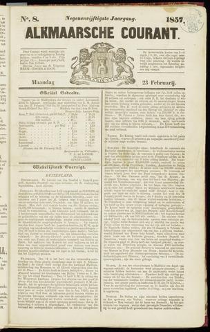 Alkmaarsche Courant 1857-02-23