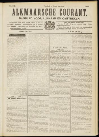 Alkmaarsche Courant 1908-11-11