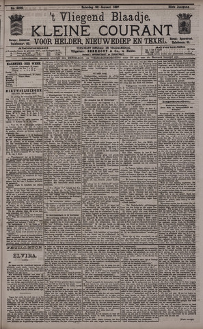 Vliegend blaadje : nieuws- en advertentiebode voor Den Helder 1897-01-30