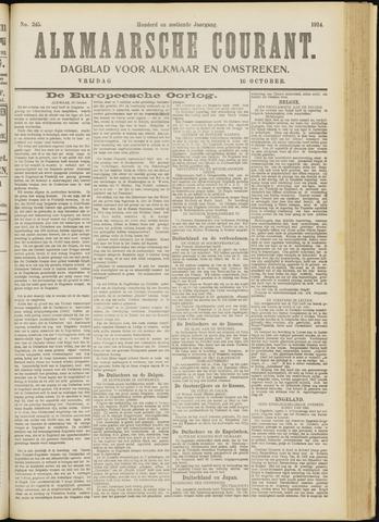 Alkmaarsche Courant 1914-10-16