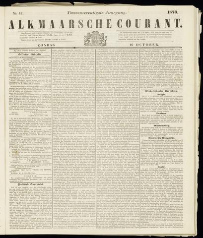 Alkmaarsche Courant 1870-10-16