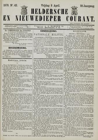 Heldersche en Nieuwedieper Courant 1870-04-08