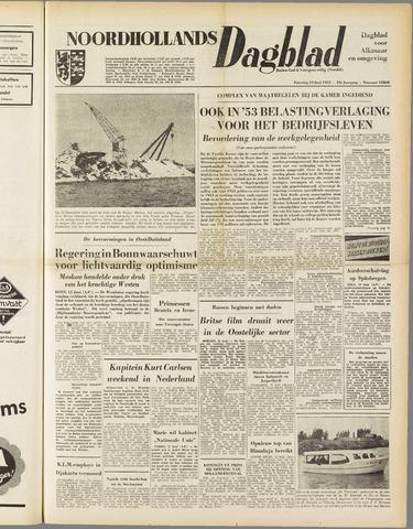 Noordhollands Dagblad : dagblad voor Alkmaar en omgeving 1953-06-13