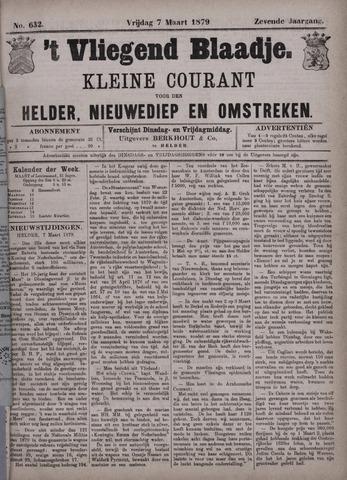 Vliegend blaadje : nieuws- en advertentiebode voor Den Helder 1879-03-07