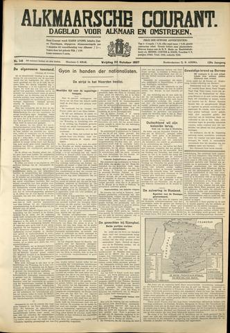 Alkmaarsche Courant 1937-10-22