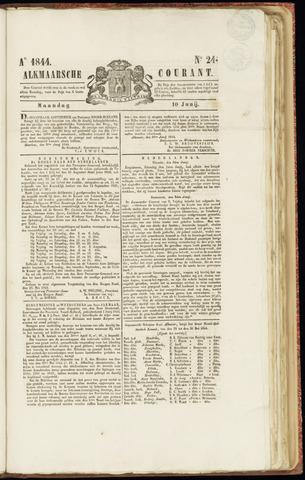 Alkmaarsche Courant 1844-06-10