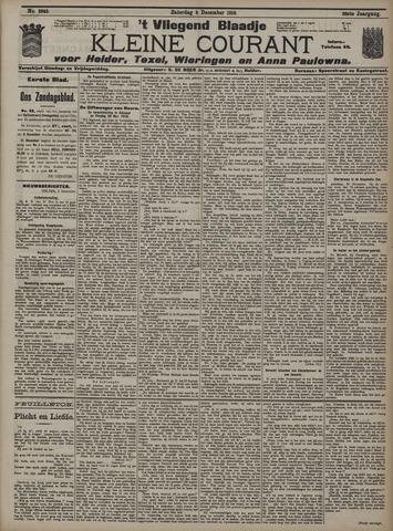 Vliegend blaadje : nieuws- en advertentiebode voor Den Helder 1910-12-03