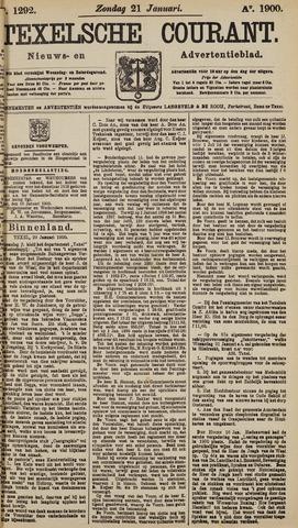 Texelsche Courant 1900-01-21
