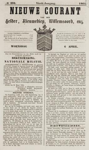 Nieuwe Courant van Den Helder 1864-04-06