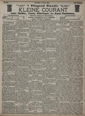 Vliegend blaadje : nieuws- en advertentiebode voor Den Helder 1908-01-15