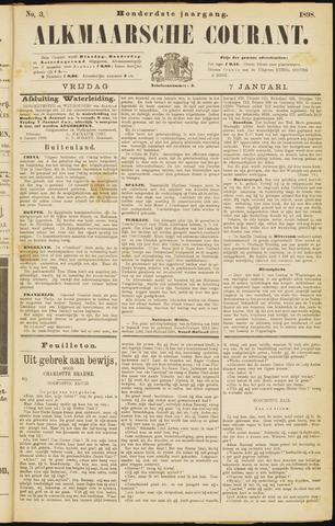 Alkmaarsche Courant 1898-01-07