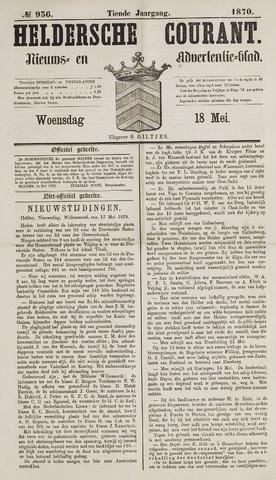 Heldersche Courant 1870-05-18