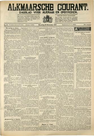 Alkmaarsche Courant 1937-11-22