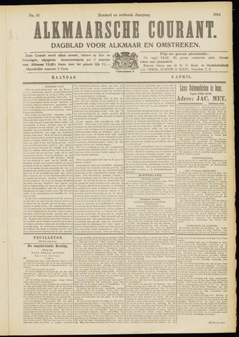 Alkmaarsche Courant 1914-04-06