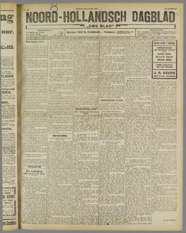 Ons Blad : katholiek nieuwsblad voor N-H 1922-01-20