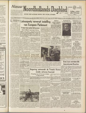 Nieuw Noordhollandsch Dagblad : voor Alkmaar en omgeving 1950-06-13