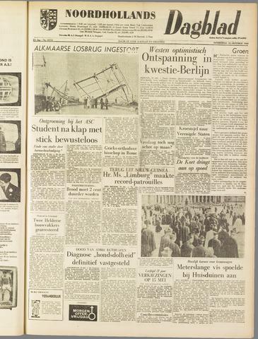 Noordhollands Dagblad : dagblad voor Alkmaar en omgeving 1962-10-18