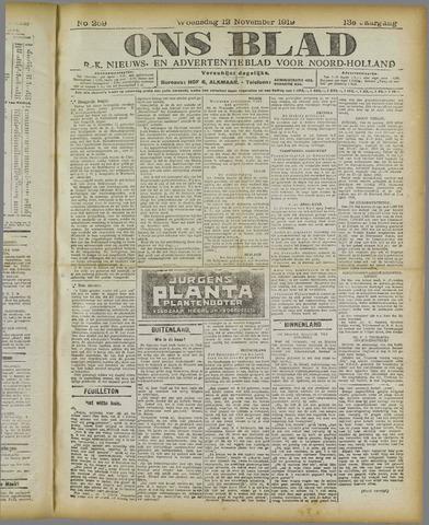 Ons Blad : katholiek nieuwsblad voor N-H 1919-11-12
