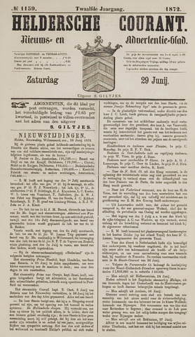 Heldersche Courant 1872-06-29