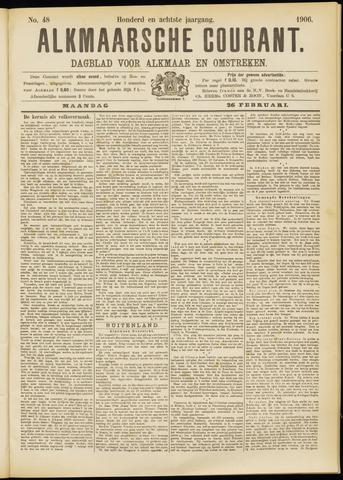 Alkmaarsche Courant 1906-02-26