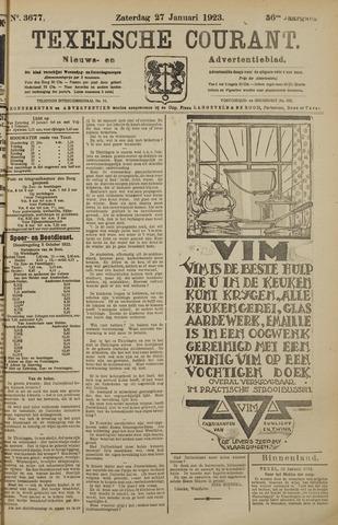 Texelsche Courant 1923-01-27