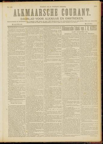 Alkmaarsche Courant 1919-06-23